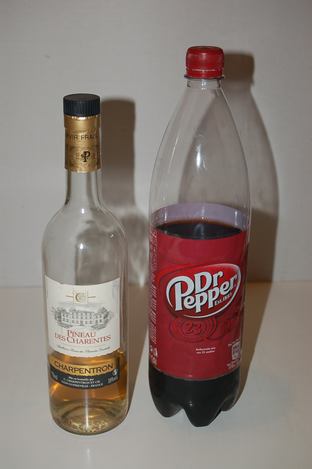 Pineau et Dr Pepper